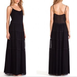 Rachel Zoe  Kyler Tiered Silk Maxi Dress NWT